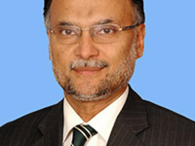 Prof. Ahsan Iqbal